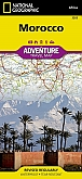 Wegenkaart - Landkaart Marokko - Adventure Map National Geographic
