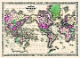 Wereldkaart Tapijt Johnson's world tapijt mercator's projection