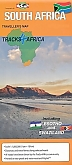 Wegenkaart - Landkaart Zuid-Afrika South Africa  Traveller's map | Tracks4Africa