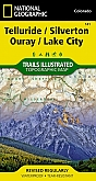 Wandelkaart 141 Telluride Silverton/Ouray/Lake City (Colorado) - Trails Illustrated Map / National Park Maps National Geographic