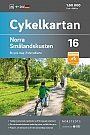 Fietskaart Zweden Smaland Coast North 16 Cykelkartan