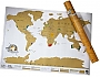 Wereldkaart Scratch map of the World 16,99  | Luckies