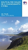 Fietskaart Wegenkaart 11 South & Mid Wales / De a Chanolbarth Cymru | Ordnance Survey Tour Map