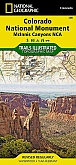 Wandelkaart 208 Colorado National Monument (Colorado) - Trails Illustrated Map / National Park Maps National Geographic
