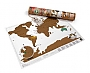 Wereldkaart Scratch map of the World 11,99 Travel Edition | Luckies