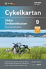Fietskaart Zweden Smaland Coast South 9 Cykelkartan