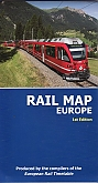 Spoorwegenkaart: Rail Map Europe | Thomas Cook