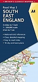 Wegenkaart - Landkaart 3 South East England - AA Road Map Britain