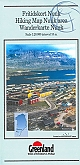 Wandelkaart Groenland 11a Nuuk Hiking Map  Greenland | Harvey Maps