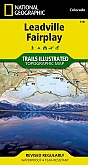 Wandelkaart 110 Leadville Fairplay (Colorado) - Trails Illustrated Map / National Park Maps National Geographic