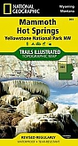 Wandelkaart 303 Mammoth Hot Springs (Yellowstone North West) - Trails Illustrated Map / National Park Maps National Geographic