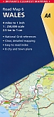 Wegenkaart - Landkaart 6 Wales - AA Road Map Britain