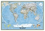 Wandkaart World in staatkundige indeling (Engelstalig) 110 x 77 cm papier | National Geographic Wall Map