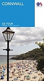 Fietskaart Wegenkaart 1 Cornwall  | Ordnance Survey Tour Map