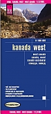 Wegenkaart - Landkaart West Canada - World Mapping Project (Reise Know-How)