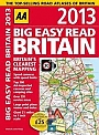Big easy read Britain AA 2013 A3 Spiraal binding