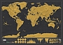 Wereldkaart Scratch map Deluxe of the World 24,90 | Luckies