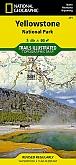 Wandelkaart 201 Yellowstone National Park - Trails Illustrated Map / National Park Maps National Geographic