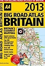 Big Road Atlas Britain AA 2013 A3 formaat spiraalbinding