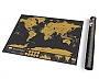 Wereldkraskaart Scratch map deluxe Traveledition 9,99 | Luckies