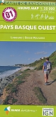 Wandelkaart 01 Pays Basque ouest - Labourd / Basse Navarre | Rando Editions