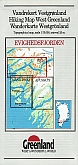 Wandelkaart Groenland 16 Evighedsfjorden  Hiking Map  Greenland | Harvey Maps