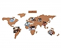 Wereldkaart - Prikbord - Kurk Cork Board Map 28.99 | Luckies