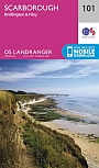 Topografische Wandelkaart 101 Scarborough Bridlington & Filey - Landranger Map