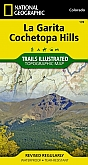 Wandelkaart 139 La Garita Cochetopa (Colorado) - Trails Illustrated Map / National Park Maps National Geographic